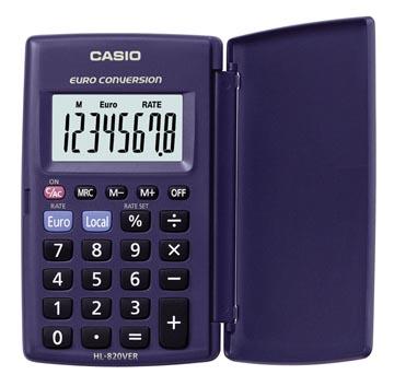 Casio calculatrice de poche HL-820VER