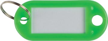Q-Connect porte-clés, paquet de 10 pièces, vert