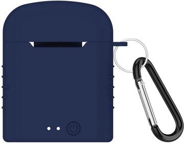 Contact masque-micro intra-auriculaire sans fil, avec station de charge