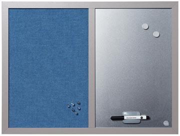 Bisilque Tableau mixte bleu