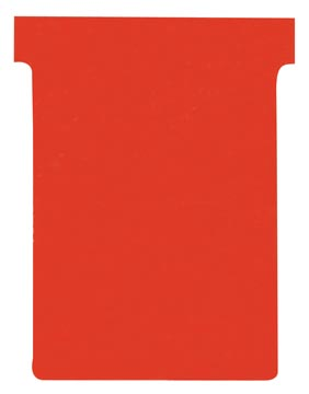 Nobo fiches T indice 3, ft 120 x 92 mm, rouge