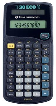 Texas calculatrice scientifique TI-30 ECO RS