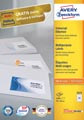 Avery Zweckform 3475, étiquettes universelles, Ultragrip, blanc, 200 feuilles, 70 x 36 mm