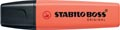 STABILO BOSS ORIGINAL Pastel surligneur, mellow coral-red (orange clair)